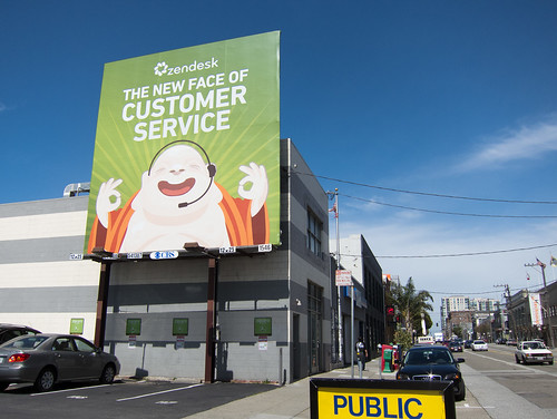 Zendesk billboard in San Francisco | by Scott Beale