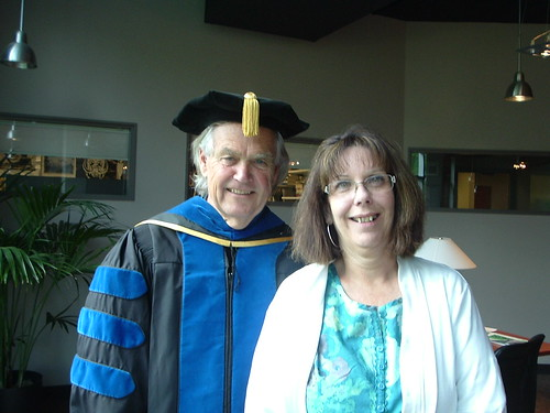 Paul and Patti, one more honors convocation for Paul.