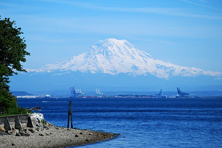 2012-05-13 Mount Rainier from South Vashon | by orcmid