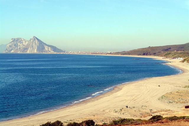Playa de La Alcaidesa. La Línea de la Concepción