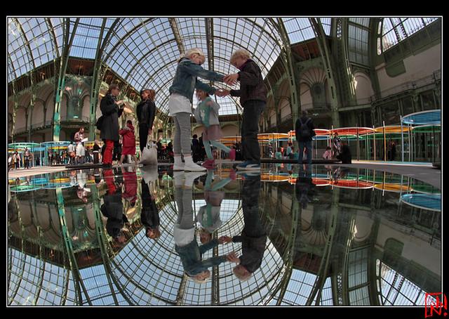 Daniel Buren, Monumenta 2012 Excentrique(s) 9/10