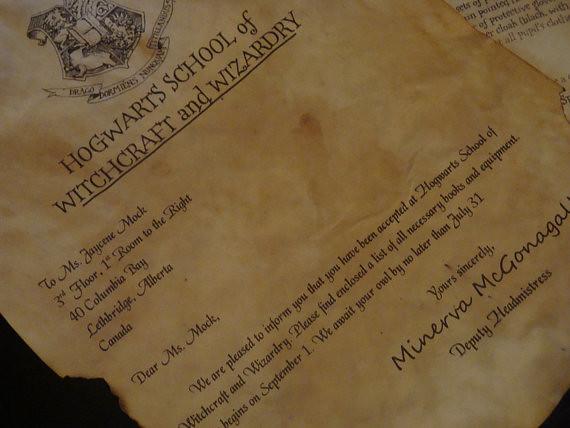 Custom Hogwarts Acceptance Letter.Hogwarts Acceptance Letter Get Your Customized Hogwarts Ac Flickr