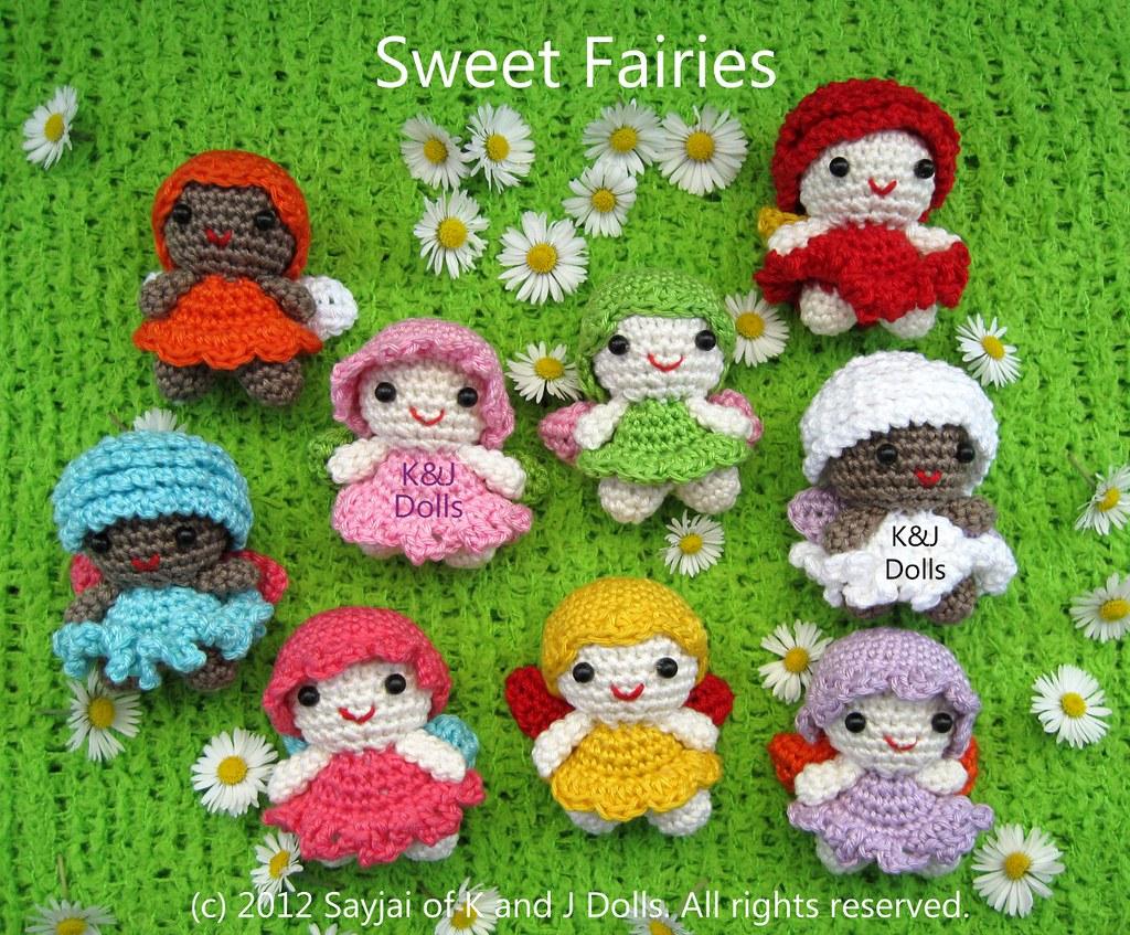 Crochet Fairy Patterns {Magical dolls little girls will adore ... | 847x1024