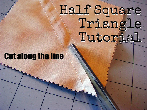 Half Square Tutorial | by Sarah.WV