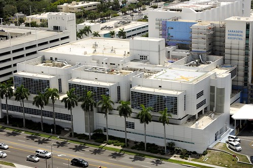 Sarasota Memorial Hospital - aerial view | by Sarasota Memorial Health Care System
