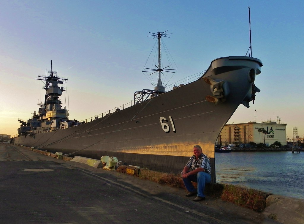 Putting the battleship USS Iowa to bed | This day was a rare