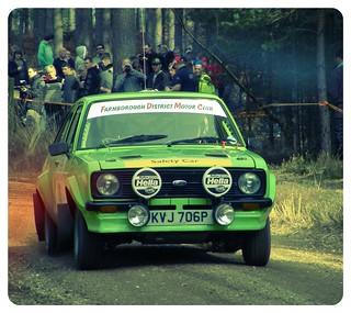MKII Escort at Sunseeker rally 2012