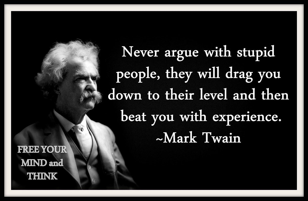 mark-twain-quote-about-stupid-people | The Red-Pill Photo ...