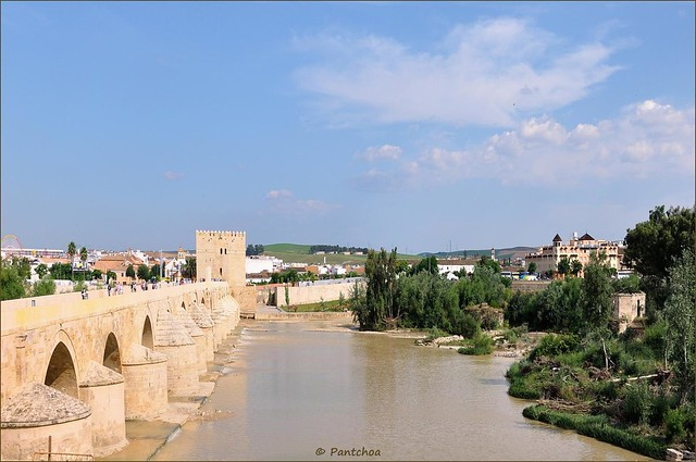 Córdoba  : View from Ronda de Isasa  2/2