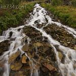 Creek by Ahern Pass