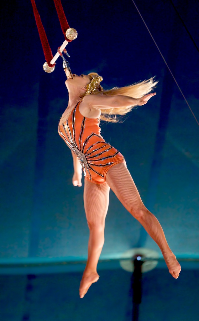 Rebecca Ostroff's Iron Jaw Spin | Kelly-Miller Circus ...