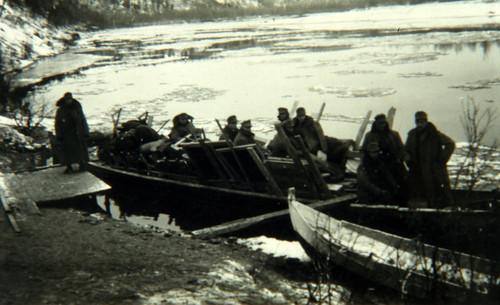 Vaktkommandoen vender tilbake til Karasjok fra grensen