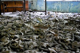 Pile of Gasmasks
