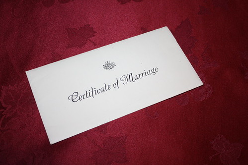 Certificate of Marriage | by jemasmith