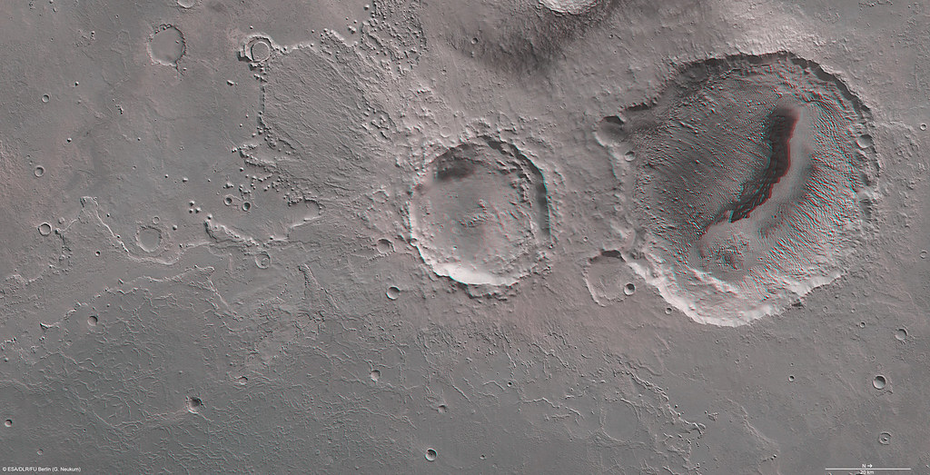 Mars in 3D: Danielson crater