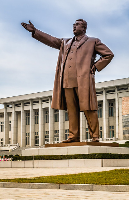 Mansudae Grand Monument of Kim Il-sung
