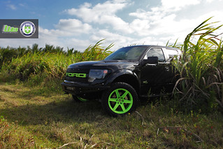 Ford SVT Raptor on HRE TR46 | by wheels_boutique