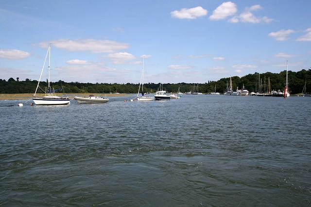The Beaulieu river