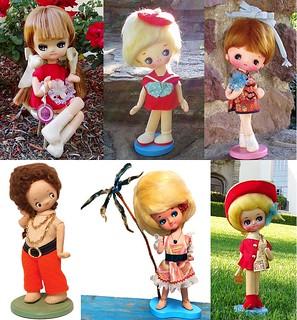 Big Head Pose Dolls
