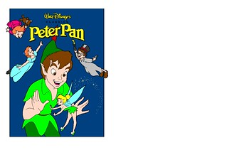 Peter Pan Coloring Page Colored I Went Ahead And Colored T Flickr