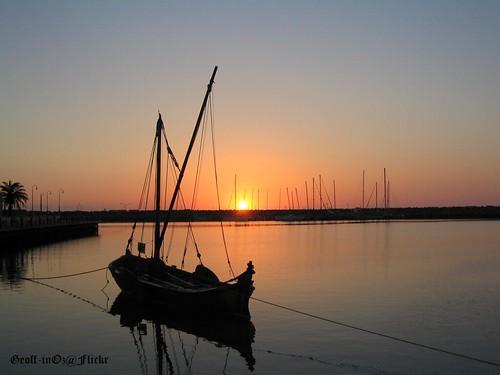 sunset marina boat australia wa westernaustralia geraldton