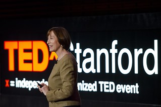 Tina Seelig at TEDx Stanford | by Tamer Shabani Photography