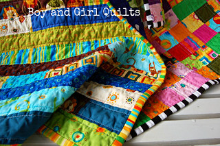 Boy and Girl Quilt | by Sarah.WV