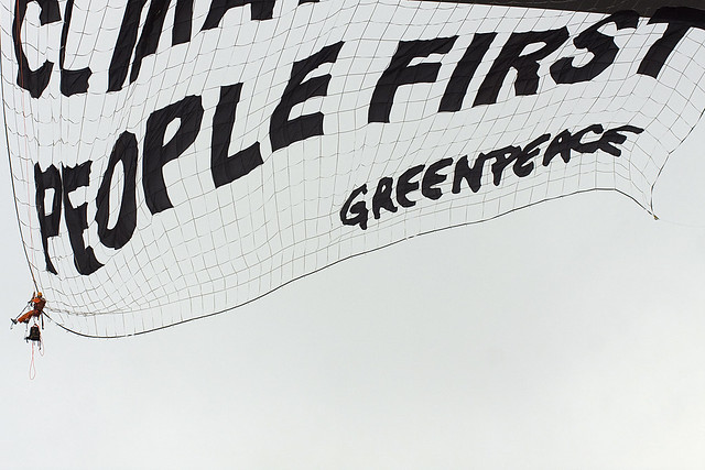 Greenpeace/Ponte Rio-Niterói