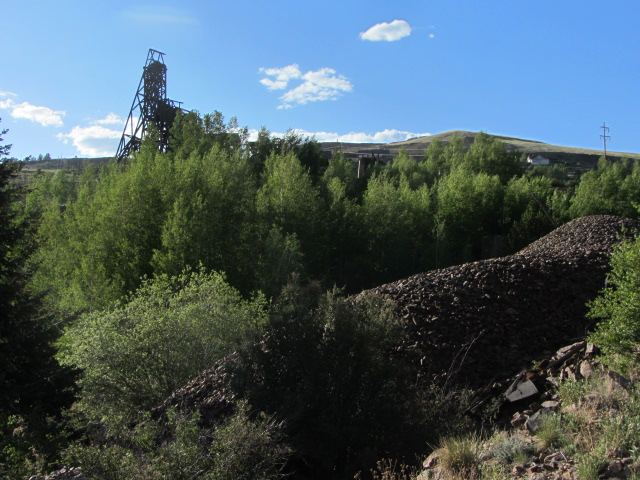 Mine from Mill Site
