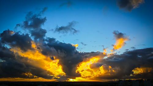 sunset pordosol wallpaper sky orange portugal clouds amazing paint cellphone quadro clauds nuvens hd postal algarve ceu hdr suelo telemovel portimao davidnunes galaxynote3