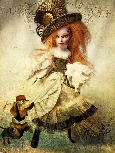 Steampunk Dashund Jump | by NylonBleu
