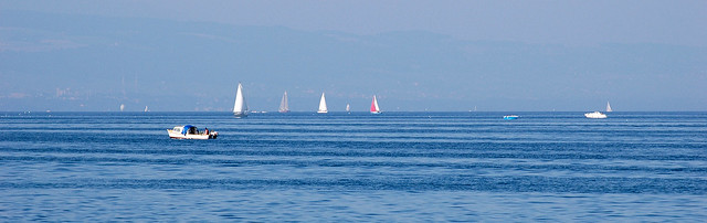 An Afternoon Out on Lake Geneva, Switzerland
