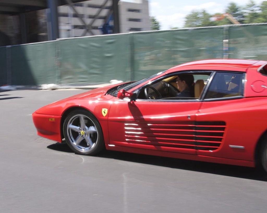 Barrett-Jackson Saturday - 1201 | 1988 Ferrari Testarossa ...