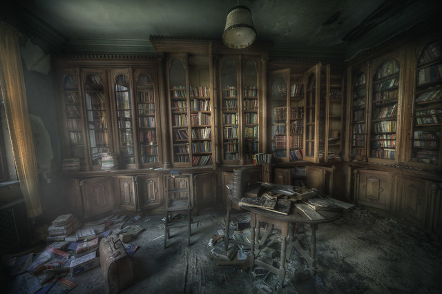 library ghosts  :