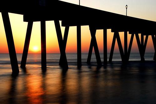 ocean longexposure sea sun beach sunshine sunrise golden seaside spring nikon day glow northcarolina atlantic oceanside wrightsvillebeach daybreak circularpolarizer oceanic ndfilter nikkor18200mmvr 4stop