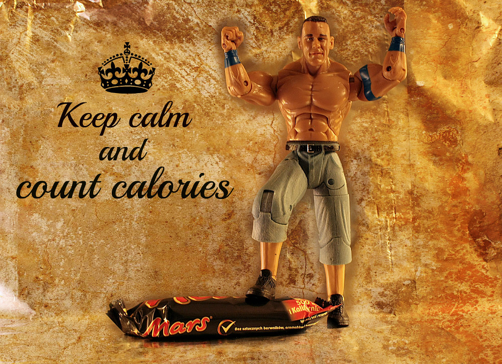 Keep calm and count calories