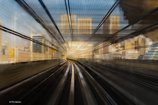 Zipping along on the Yurikamome monorail - Tokyo | by Phil Marion (179 million views - THANKS)