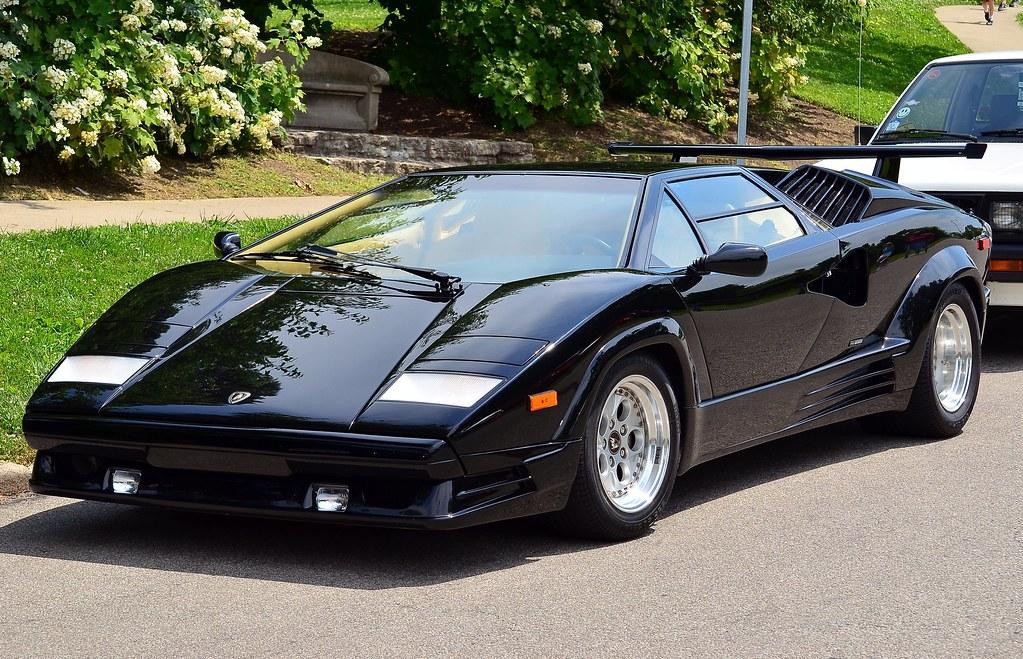 1989 Lamborghini Countach 25th Anniversary Black Www Faceb Flickr