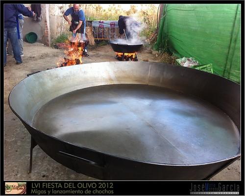 LVI FIESTAS DEL OLIVO - MORA 2012- MIGAS Y LANZAMIENTO DE CHOCHOS DE ACEITUNA   by JOSE-MARIA MORENO GARCIA = FOTOGRAFO HUMANISTA