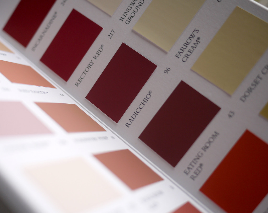 Farrow & Ball Colours 2012