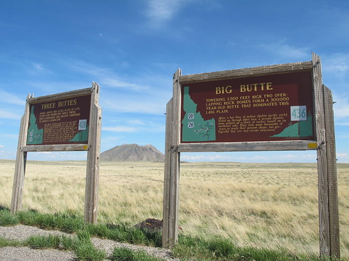 Idaho: Three Buttes and Big Butte | by mormolyke