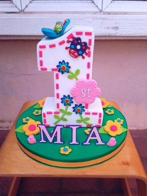 Mia's 1st B'day