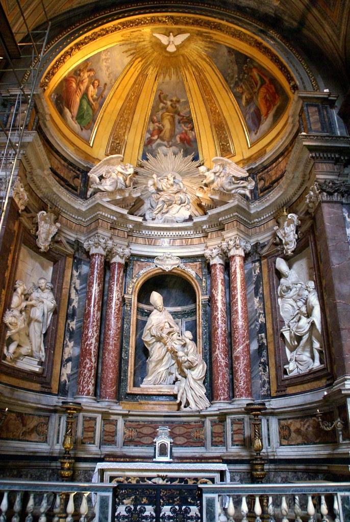 Rom Santagostino Kapelle Des San Tommaso Da Villanova Chapel Of