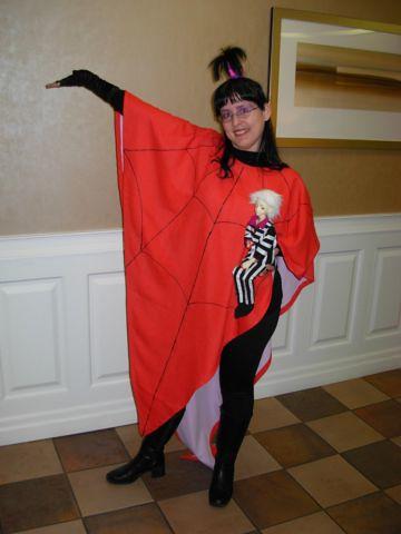 Lydia Deetz Cartoon Version Wore This Costume At Polaris Flickr