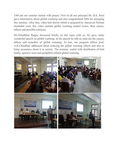 Report _Global Warming_seminar_002 | by trivedism