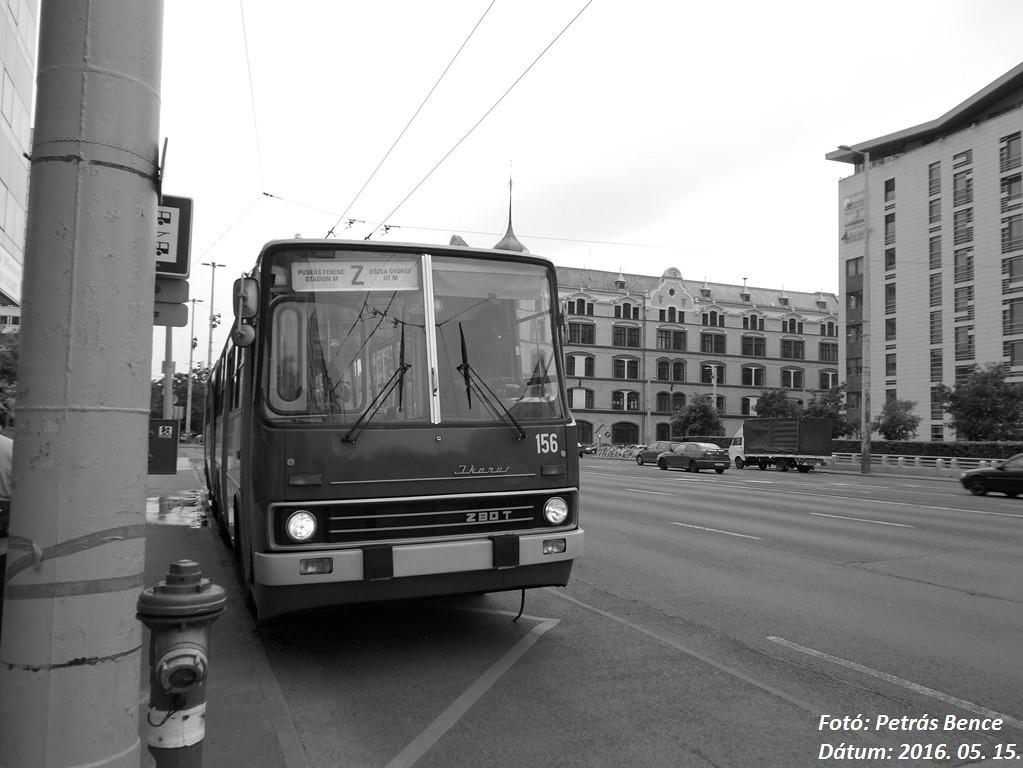 Ikarus 280T 156 Budapest, Dózsa György út, 2016  05  15