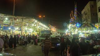 Outside El-Sayida Zeinab's Ramadan Market | by Kodak Agfa