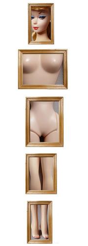 Barbie Magritte, by Jocelyne Grivaud