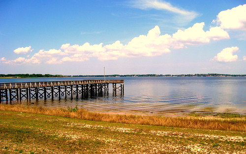 Clermont - Downtown Lakefront Park - Fishing Pier on Lake Minneola | by jared422_80