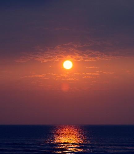 light sunset sea port pentax k5 fa77mmf18